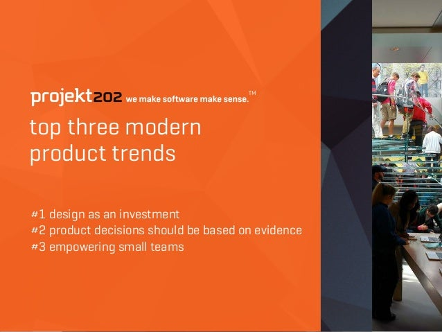 top three modern 