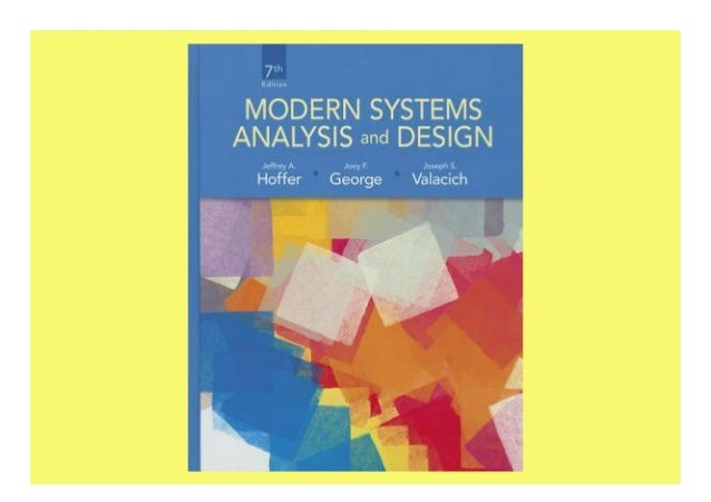 Pdf Online Modern Systems Analysis And Design Unlimed Acces Book
