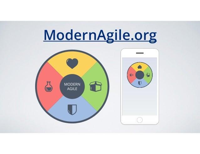 Modern Agile - Keynote at Agile2016