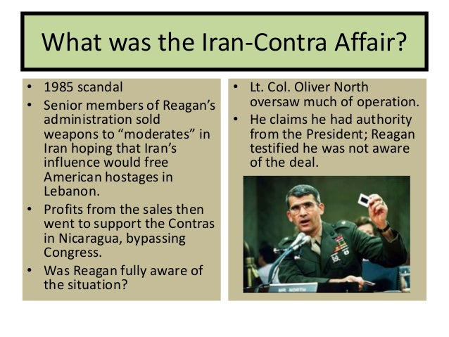 Image result for the iran-contra affair