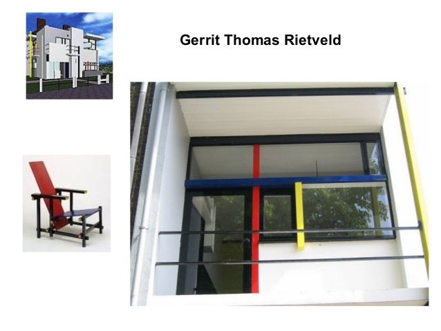 With Marcel Breuer. exterior prefabricated spiral staircase, glass block, painted brick free standing wall defines terrace