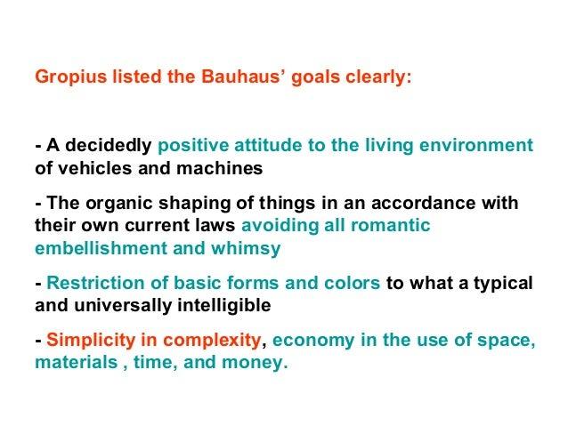 Bauhaus Break Up (Again)