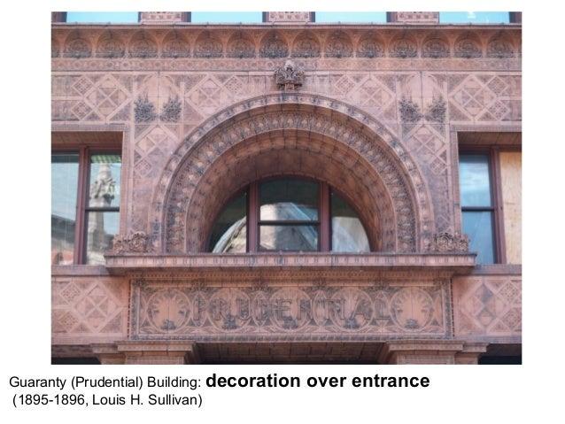 Modern Architecture - Lecture 1
