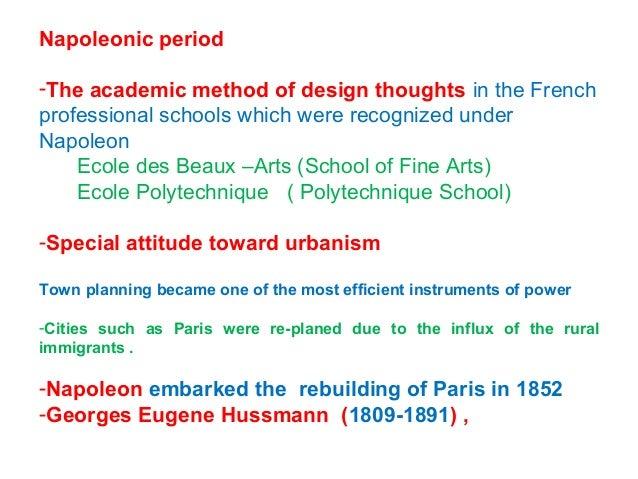 Paris before Hussmann Paris after Hussmann
