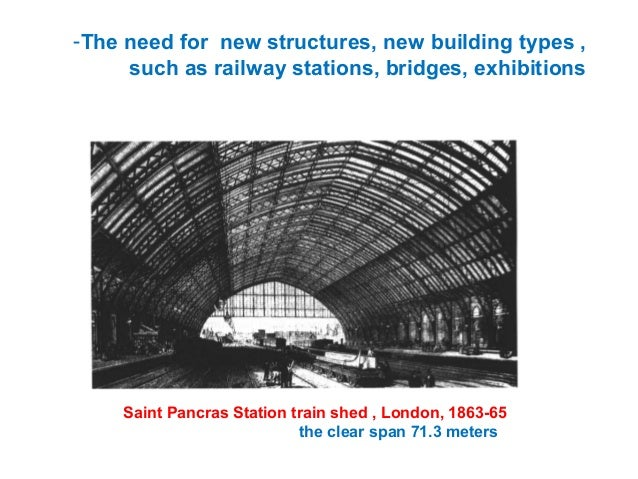 Serially manufactured - similar parts had the same color (Joints: blue, roof trusses: red) The central cross aisle was giv...