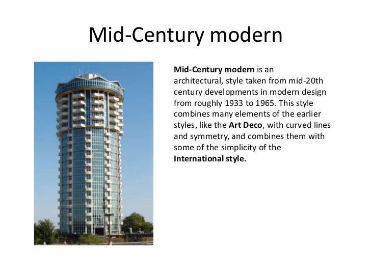 Modern Architecture Style modern architecture