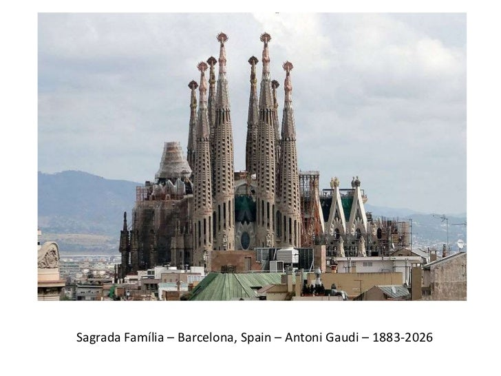 Sagrada Familia Barcelona Spain Antoni Gaudi 1883 2026