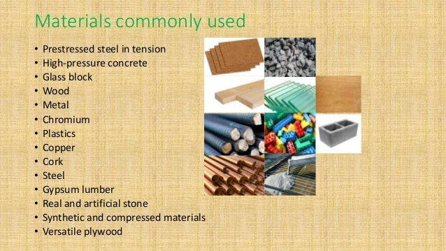 Elegant Materials Commonly Used ...