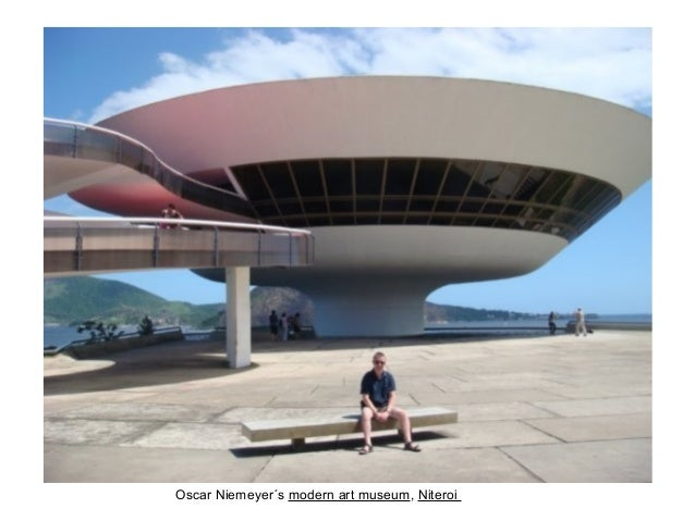 Oscar Niemeyer´s modern art museum, Niteroi