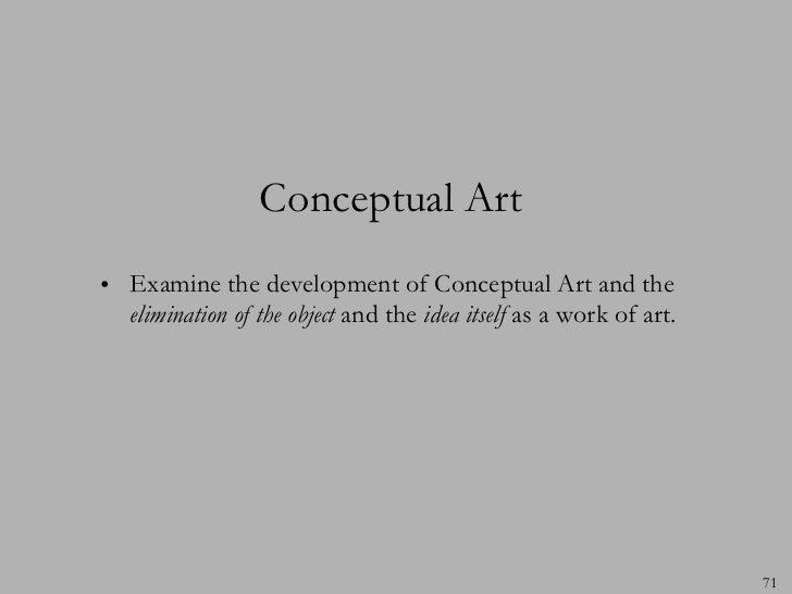conceptual art