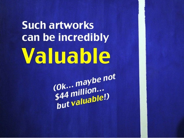 WE SHOULD ALL CARE ABOUT MODERN ART