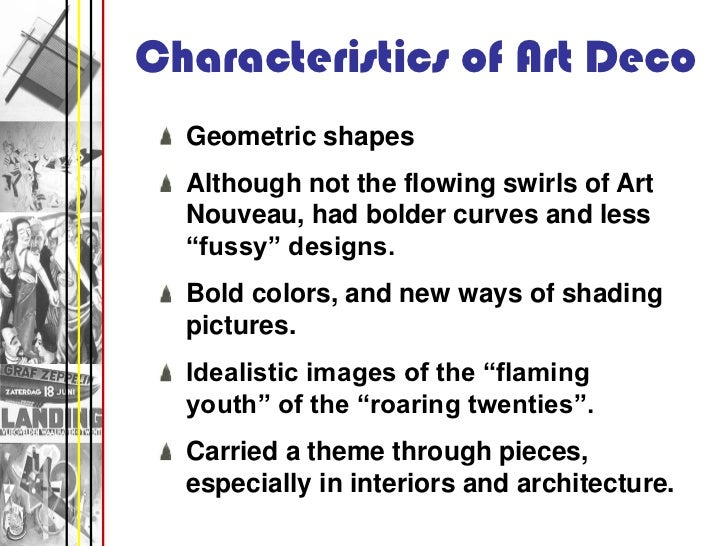 28 Characteristics Of Art Deco Geometric Shapes Although