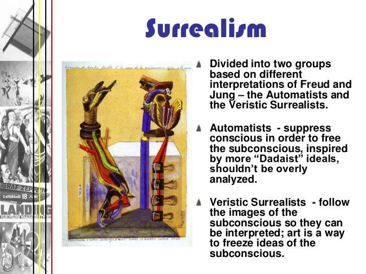 surrealism freud and jung relationship
