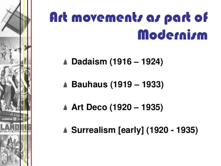 Modern art powerpoint pdf art movements toneelgroepblik Choice Image
