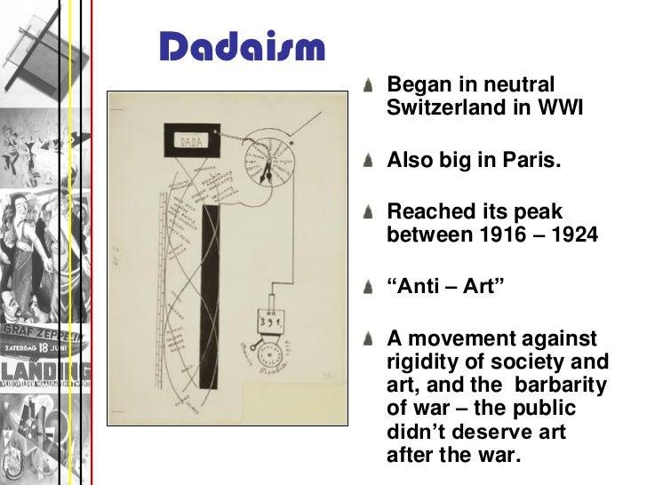 Modern Art Movements Powerpoint