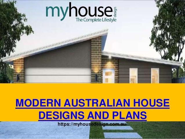 Modern Australian House Designs And Plans
