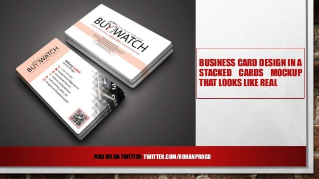 Modern business card design for buywatchusa comrohanprogd 5 front card colourmoves