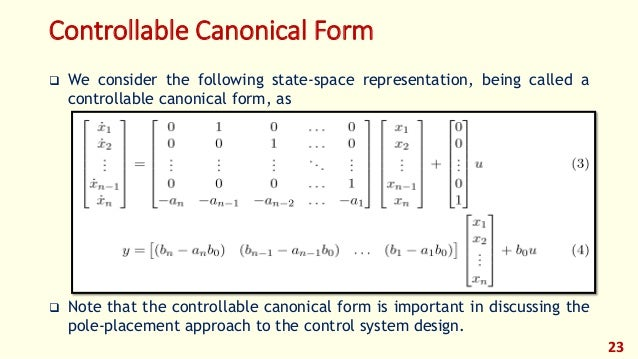 write a note on state space formulation algorithm