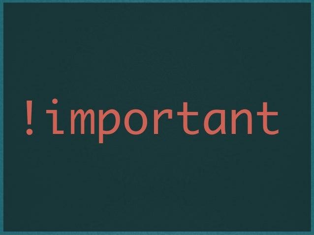 !important