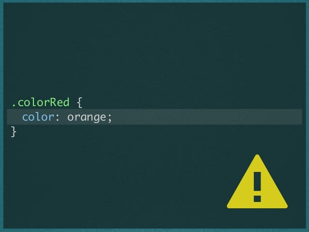 SMACSS - Categorization カテゴライズ  - Naming Convention 命名規則  - Decoupling CSS from HTML HTMLとCSSの分離