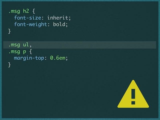 BEM stands for ... - Block - Element - Modifier