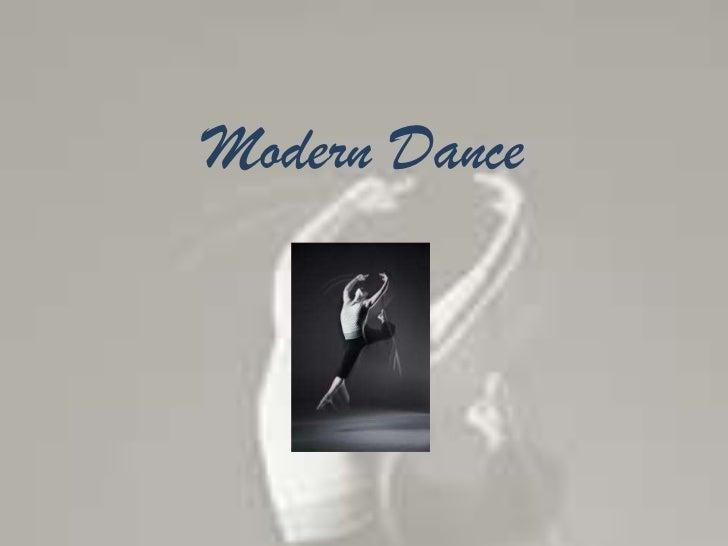 Modern Dance<br />