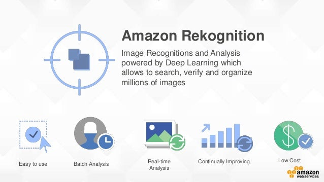 Serverless Rekognition Demo Serverless website that uses Rekognition to identify faces and classify pictures Amazon S3 AWS...