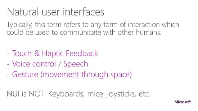 Natural Language Interaction Products