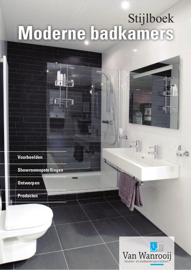 voorbeelden van moderne badkamers, Badkamer