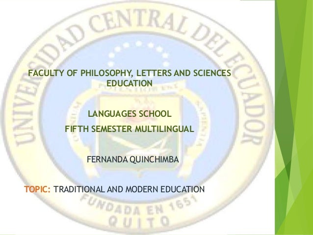 CENTRAL UNIVERSITY OF ECUADOR FACULTY OF PHILOSOPHY, LETTERS AND SCIENCES EDUCATION LANGUAGES SCHOOL FIFTH SEMESTER MULTIL...
