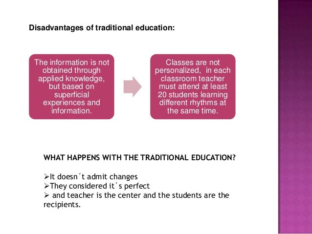 TRADITIONAL AND MODERN EDUCATION BY FERNANDA QUINCHIMBA
