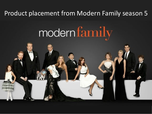 Product placement from Modern Family season 5