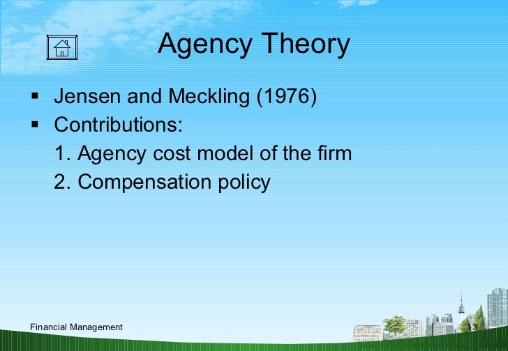 modern finance theory essay The intellectual history of modern finance theory thus followed a simple  27  social change and public decision making: essays in honor of.
