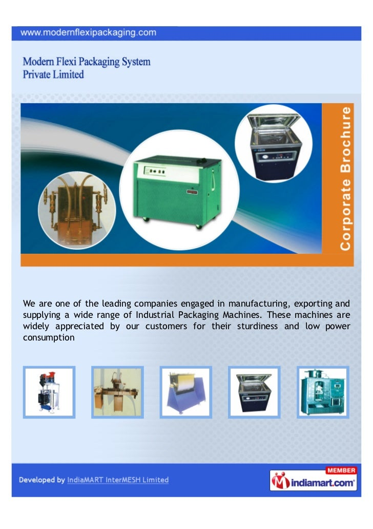 We are one of the leading companies engaged in manufacturing, exporting andsupplying a wide range of Industrial Packaging ...