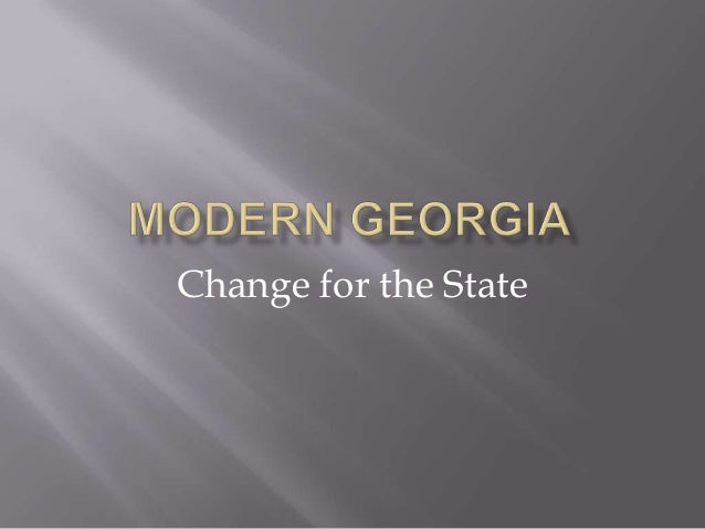 Change for the State