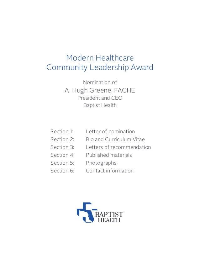 A Hugh Greene Fache President And Ceo Baptist Health 2013 Commu