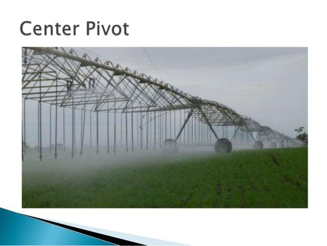Modern irrigation techniques