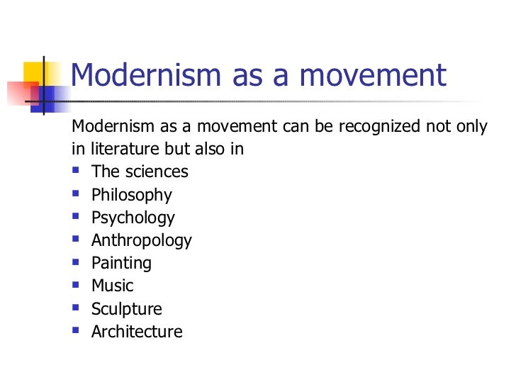 element of moderanism What are characteristics of modernist literature - download as word doc (doc / docx), pdf file (pdf), text file (txt) or read online.