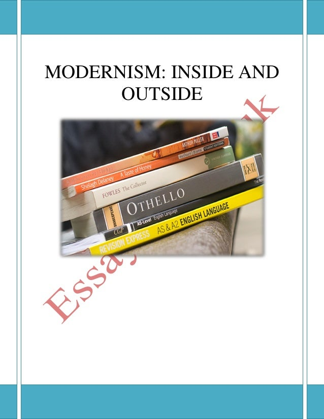 essays on modernist literature