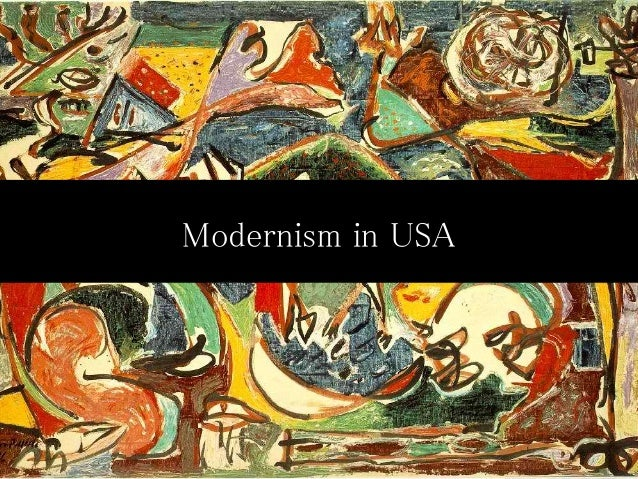 Modernism In Usa