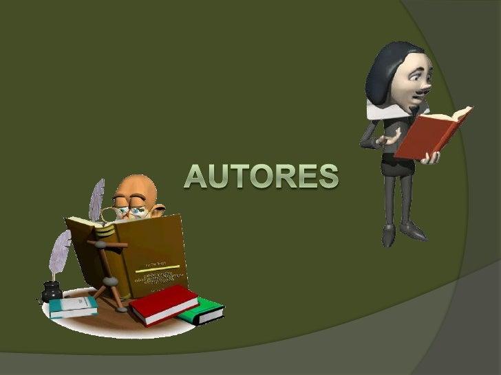 Autores<br />