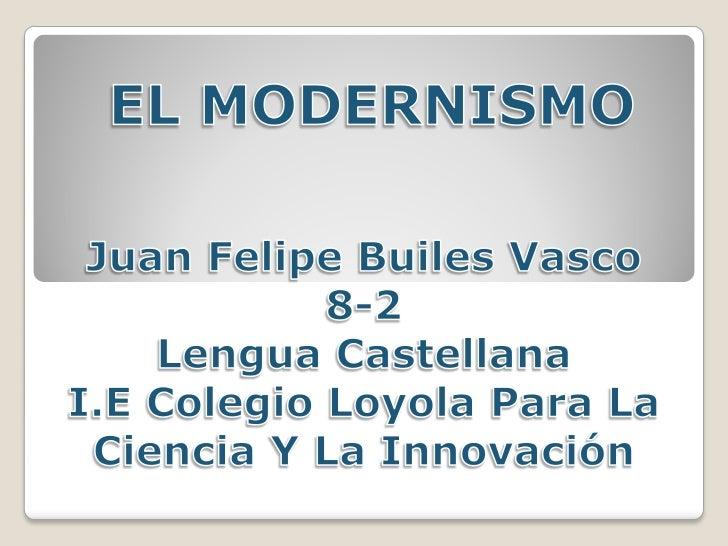 En la literatura en lengua española, el término modernismo denomina a  un movimiento literario que se desarrolló entre los...