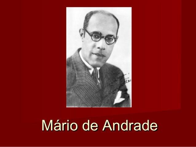 Mário de AndradeMário de Andrade