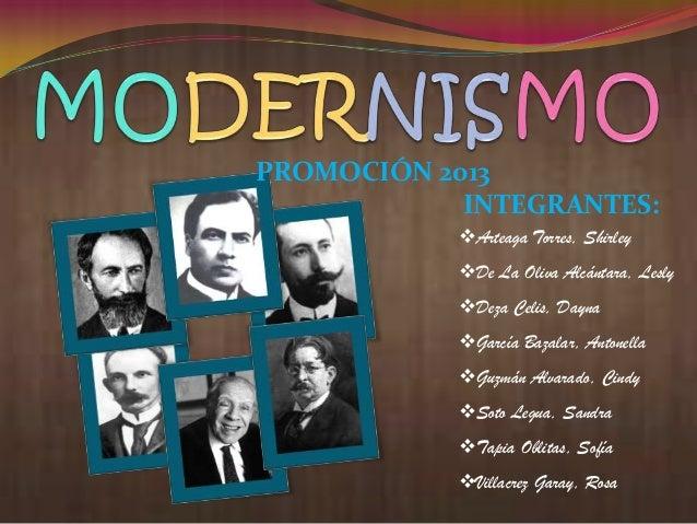 Modernismo en Hispanoamerica