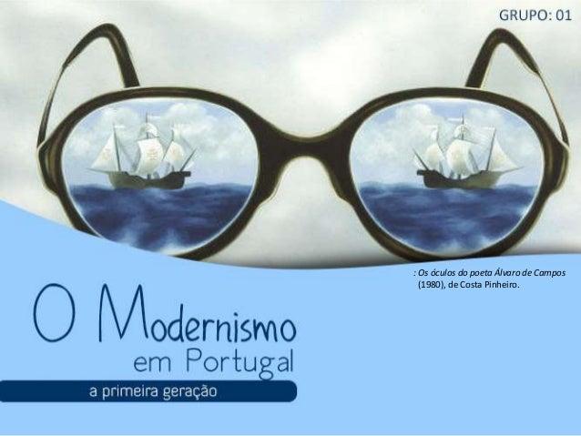 : Os óculos do poeta Álvaro de Campos (1980), de Costa Pinheiro.