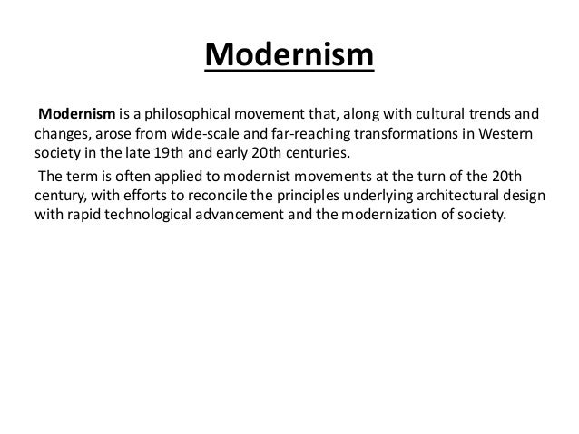 Modernism postmodernism in architecture for Modernisme architecture definition