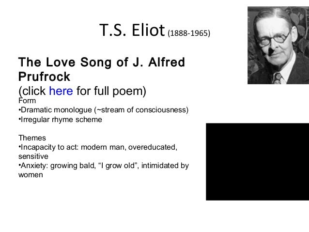 ts eliot and modernism essay In his time ts eliot established a new critical orthodoxy by which no major modern critic in england or america remained unaffected, but a decade has passed.