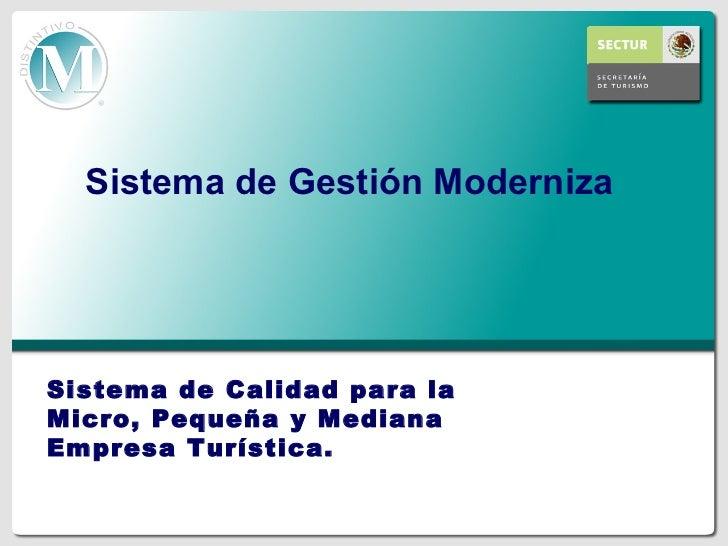 Haga clic para modificar el estilo de                     título del patrón   Sistema de Gestión ModernizaHaga clic para m...
