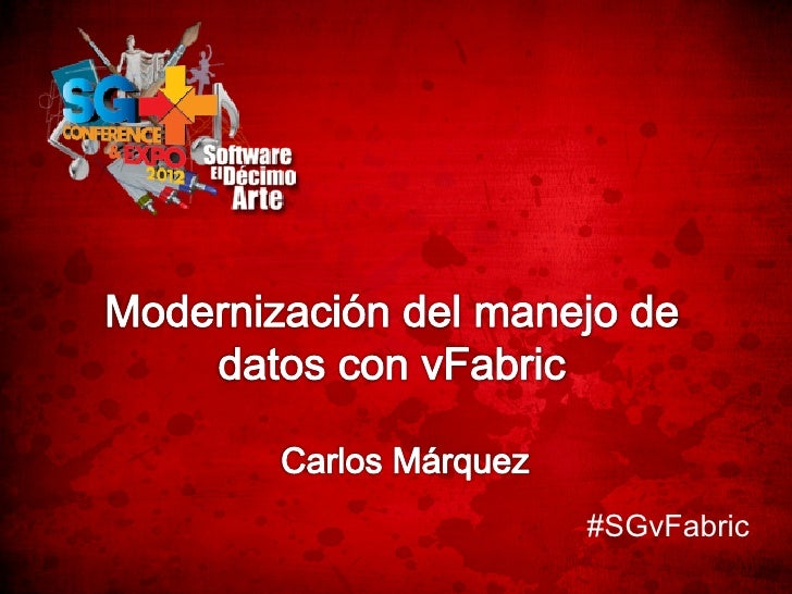 #SGvFabric   © 2011 VMware Inc. All rights reserved