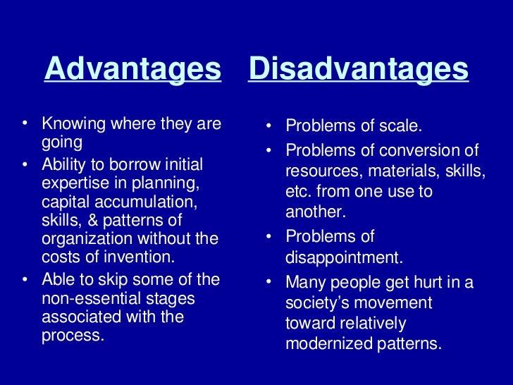 limitations of modernization theory